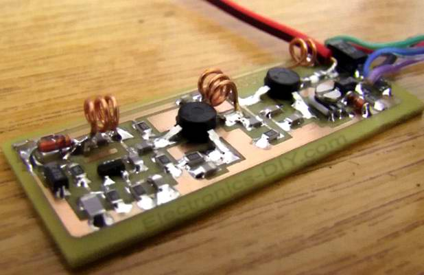 Устройство ТВ передатчика на печатной плате