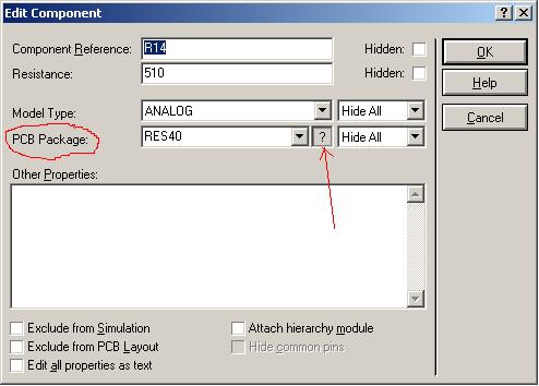 параметр – PCB Package