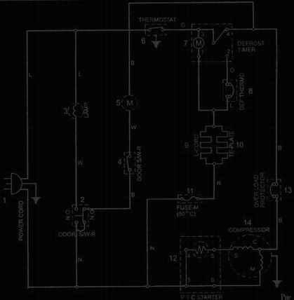 холодильник атлант схема электрическая принципиальная